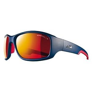 Julbo Stunt Performance Sunglasses, Blue/Red, Spectron 3+ Lens