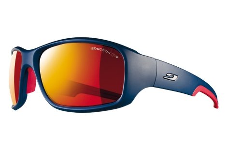 Julbo Stunt Performance Sunglasses, Blue/Red, Spectron 3+ - Sunglasses Rowing