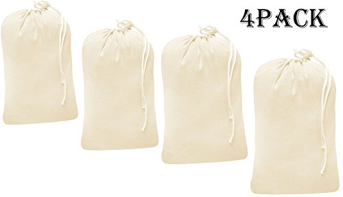 Cotton Travel Laundry Bags - 4