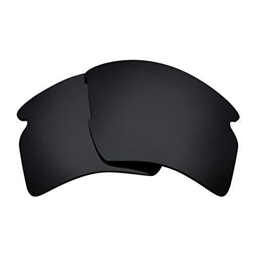 Seek Optics Replacement Lenses for Oakley FLAK 2.0 XL, Advanced Black Polarized (Lens Flack Oakley Jacket)