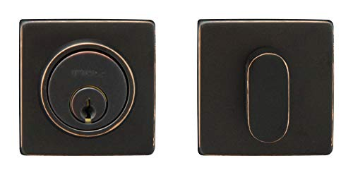 INOX LD310B6-10B LD Square Dead Bolt Oil Rubbed Bronze