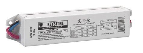 Keystone Ballasts 2 Lite F20T12, Class B, NPF, Electronic Ballast model number KTEB-220-1-TP-EMI - Npf Electronic Ballast