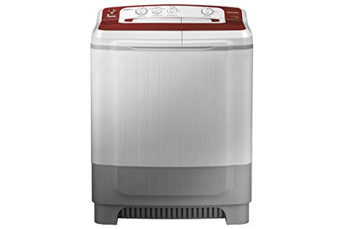 Samsung 8 kg Semi Automatic Top Loading Washing Machine  WT80M4000HR/TL, Light Grey, Double Storm Technology