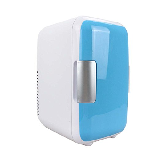 DSHBB Car Fridge Mini,Cooler And Warmer ,Travel, Picnic, Camping Outdoor Use (Color : Blue) by DSHBB