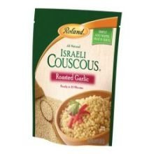 Roland Roasted Garlic Israeli Couscous, 6.3 Ounce -- 6 per case. (Roland Garlic)
