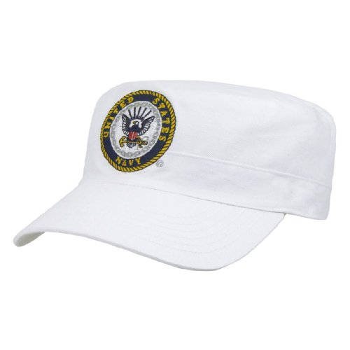 Rapid Dom US Military The Private Cadet Flat Top Reversible Branch Caps S009 Navy