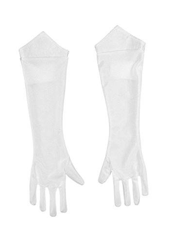 Make A Princess Peach Costume (Nintendo Super Mario Brothers Princess Peach Child Gloves, One Size Child)
