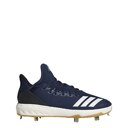 adidas Icon 4 Cleat - Men's Baseball 8 Collegiate Navy/White/Black by adidas (Image #6)