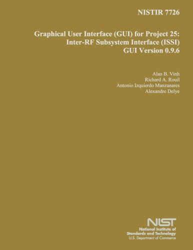 Download NISTIR 7726: Graphical User Interface for Project 25: Inter-RF Subsystem Interface GUI Version 0.9.6 pdf