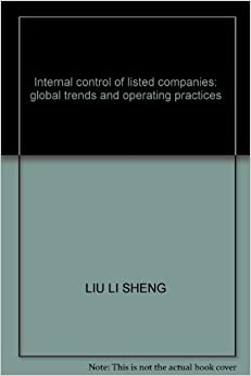 Internal control of listed companies: global trends and operating practices