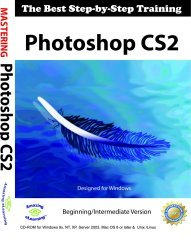 Photoshop CS2 Step-by-Step Training CD course for Windows by Amazing Elearning