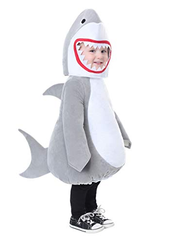 Bubble Shark Toddler Costume 2T Gray]()