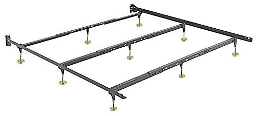 Hospitality Bed Frame - Warped Floor Series - Queen / King / California King HEAVY DUTY