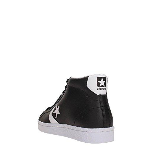 Converse Pro Leather 76 Foundational Leather 157717C Herren Schuhe Hohe Sneaker -Schwarz 45 EU