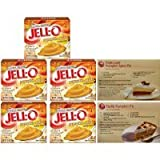 Kraft Jell-O Instant Pudding & Pie Filling, Pumpkin Spice, 3.4 Oz. (Pack of 5) carrier to shipping international usps, ups, fedex, dhl, 14-28 Day By Dragon Shopping