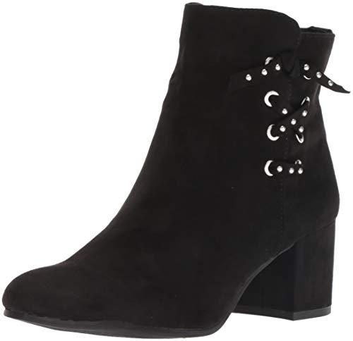 Circus by Sam Edelman Women's Vinnie Fashion Boot, Black Microsuede, 7.5 M US
