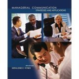 Read Online Managerial Communication: Strategies and Applications PDF