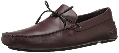 Lacoste Men's Piloter Corde 117 1 Formal Shoe Fashion Sneaker, Dark Brown, 11 M US