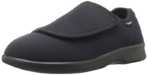 Diabetic Shoe - Propet Men's Cush N Foot Shoe,Black,12 5E US