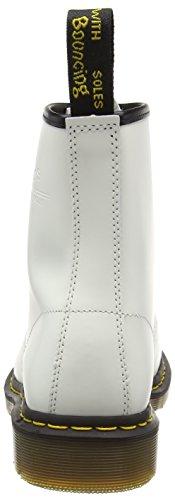 Dr. Martens Mens 1460 Botte Classique Blanc En Cuir Lisse