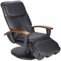 Human Touch Faux Leather Massage Chair - Black (HT-103)