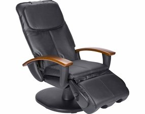Human Touch Faux Leather Massage Chair U0026#45; Black ...