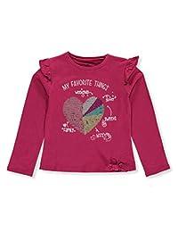 Pink Velvet Girls' L/S Sequin Top