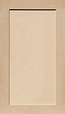 Unfinished Shaker Cabinet Doors in MDF by Kendor, All Sizes