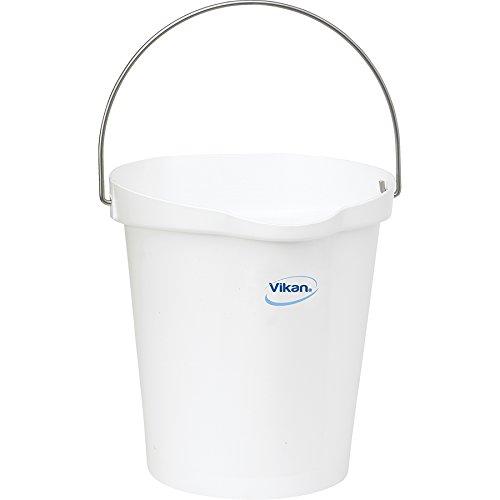 Vikan Polypropylene White 3 Gallon Pail