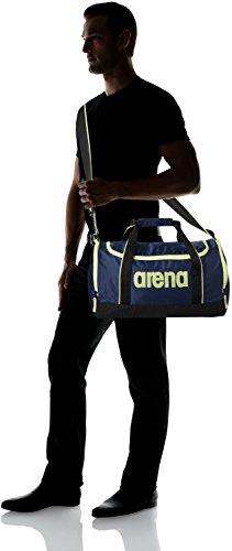 arena Spiky 2 Bolsa de Deporte, Unisex Adulto, Naranja (Fluo Orange), S azul (royal)