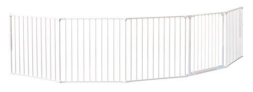 Baby Dan Flex Safety Gates, White, XX-Large