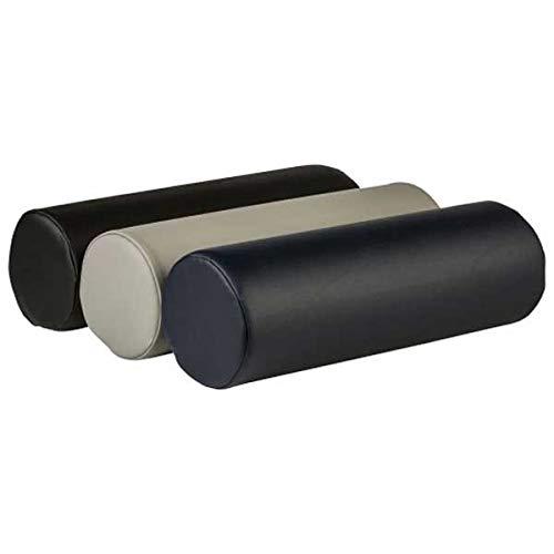 Medium Dutchman Roll-Medium Bolster 8 x 18 Inches - Black