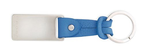 Cross Blue Leather Slip Tie Key Fob ()