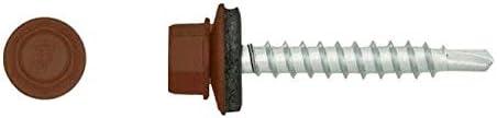Diall Lot de 50 vis auto-perceuses Marron 4,8 x 35 mm