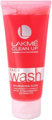 5. Lakme Clean Up Face Wash - Nourishing Glow Face Wash(100 gm) Pack of 2