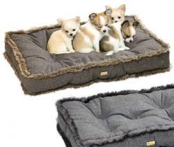 Karlie NOBLE LÍNEA mascota cojín - negro, tamaño 120 x 80 cm, cama para perros: Amazon.es: Productos para mascotas