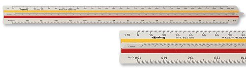 Rotring Triangular Reduction Scales - Engineer DIN by Rotring