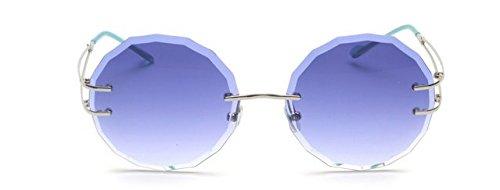 de de sin Sol blue Cortadas la Marco de de Chennnnnn Ceniza Gafas Sol Gafas Cambio y Las XwqOn4xHP