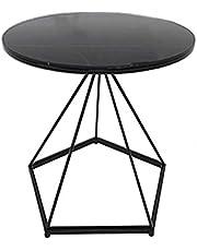 Salontafel Kleine ronde bijzettafel in de woonkamer, minimale salontafel op kantoor, moderne salontafel op het buitenterras, hoogte optioneel