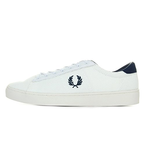 Fred Perry Spencer Mesh White B2013300, Turnschuhe