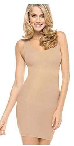 - Flexees Maidenform Firm Control Shaping Full Slip (2X-Large, Latte Lift)