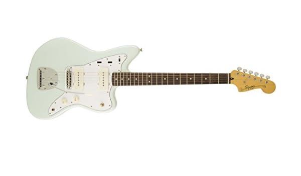 Squier Vintage Jazzmaster - Guitarra eléctrica (azul sónico, diapasón de laurel indio): Amazon.es: Instrumentos musicales