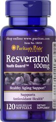 Pack Puritans Pride Resveratrol Softgels product image