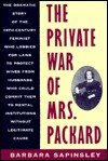 The Private War of Mrs. Packard, Barbara Sapinsley, 1557783306