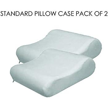 Amazon.com: Contour funda de almohada de velur, Poliéster ...