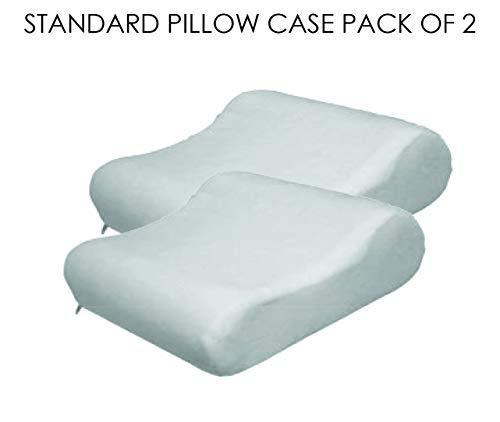(Contour Velour Pillow Case, Standard, 2 Pack)