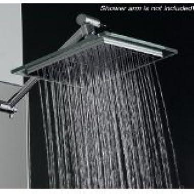 AKDY AZ-6021 Bathroom Chrome Shower Head, 8-inch