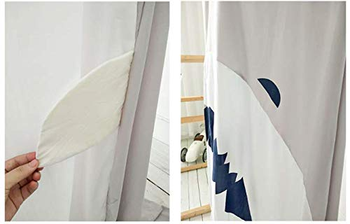 Length:240cm 94inch szzcx Children Bed Canopy Mosquito net for Kids Baby Shark Animal Round Dome Kids Indoor Outdoor Castle Play Tent Hanging House Decoration Reading Nook Cotton