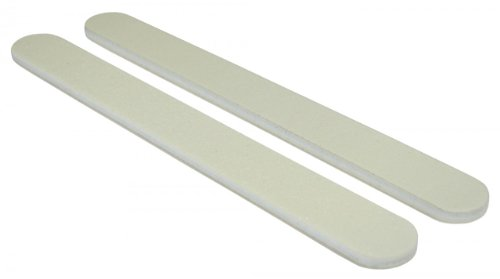 White 100/180 (Wht Ctr) Washable Nail File 50 Pack