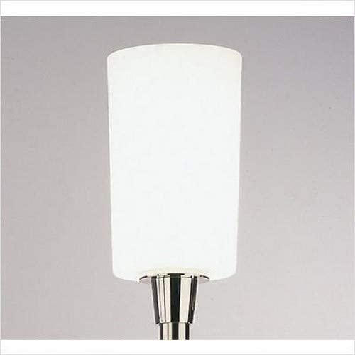 Robert Abbey 2068 Lamps with Frosted White Cased Glass Shades, 70.5 x 12 x 70.5 , Polished Nickel Finish